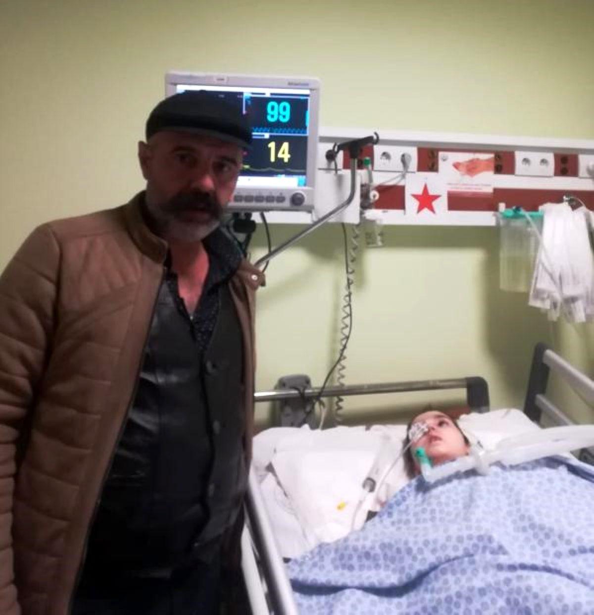 Beyninde kist tespit edilen Sıla, Ankara'ya gönderildi