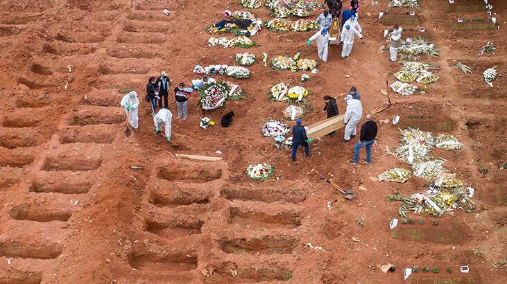 Brezilya'da 2 bin 371 kişi daha hayatını kaybetti!