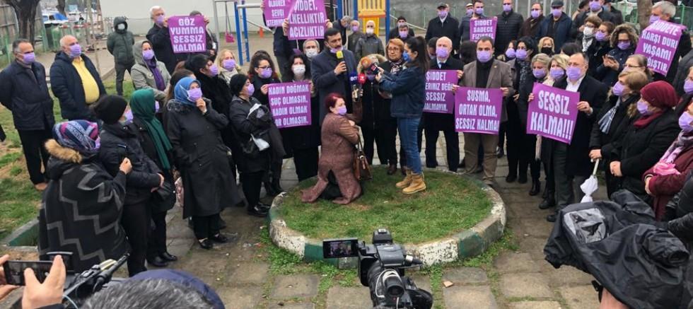 Bursa'da İYİ Partili kadınlar, sessiz çığlıkların sesi oldu: