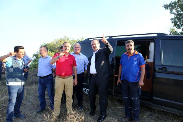Bursa'da 50 hektar ormanlık alan yangında zarar gördü