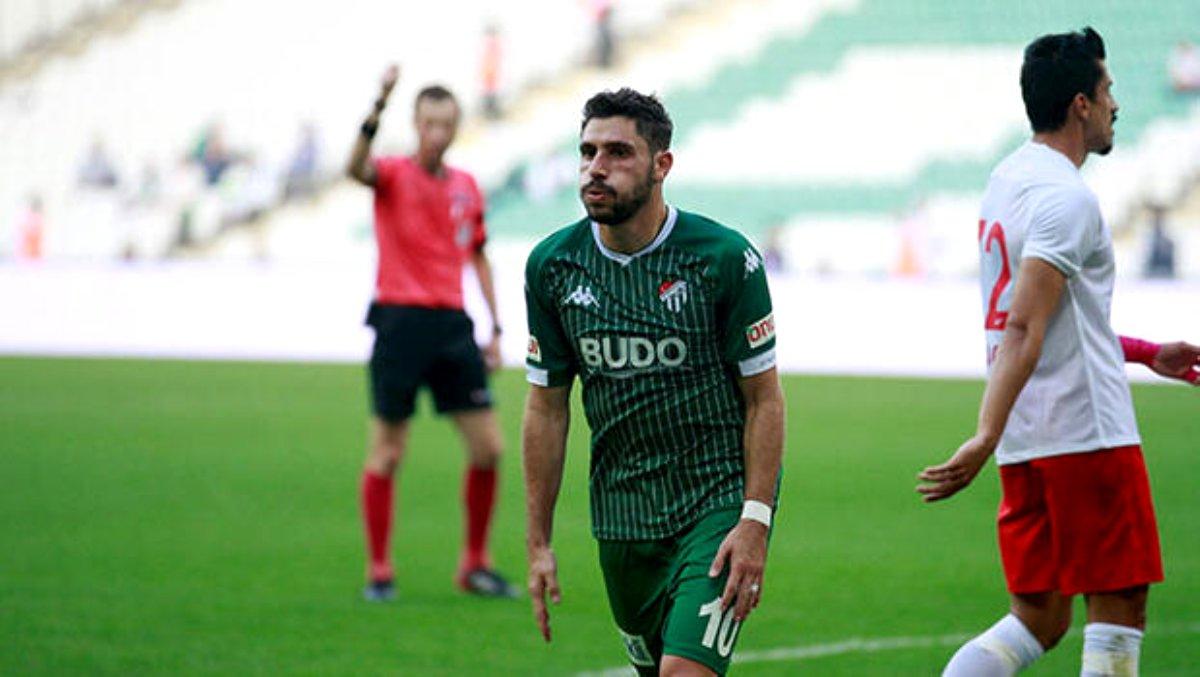 Bursaspor'da Özer sevinci! 3 puanı getirdi...
