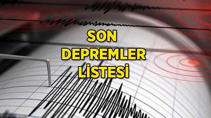 Deprem mi oldu, nerede, kaç şiddetinde? Kandilli Rasathanesi 15 Haziran son depremler listesi...