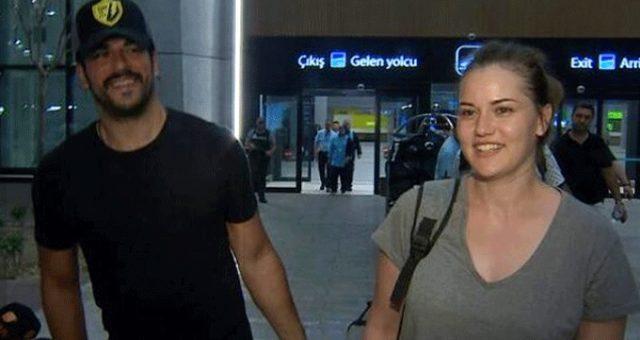 Fahriye Evcen'den, eşi Burak Özçivit'le aşk paylaşımı! Güzelliği ile büyüledi