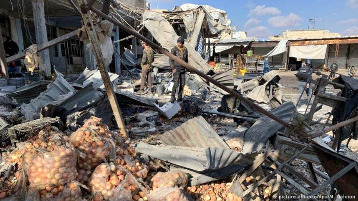 Gözlemevi: Suriye'deki saldırılarda çok sayıda sivil öldü