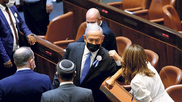 İsrail'de görev Netanyahu'nun