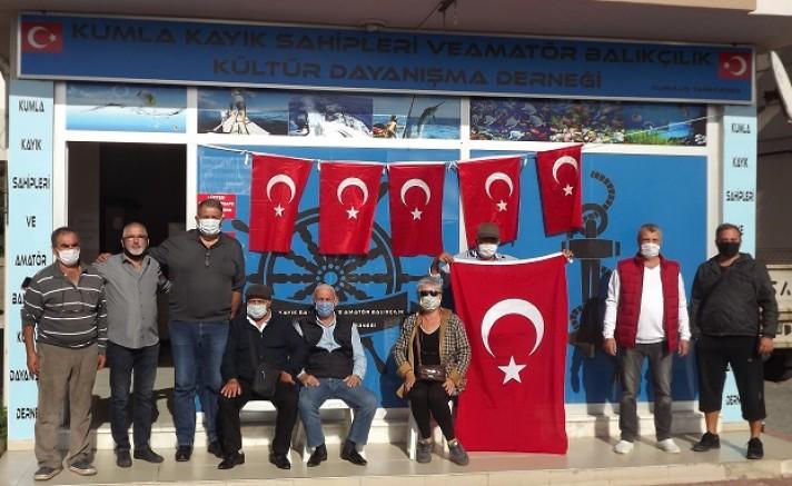Kumla Kayık Sahipleri ve Amatör Balıkçılık Kültür Dayanışma Derneği 97.YILI KUTLADI