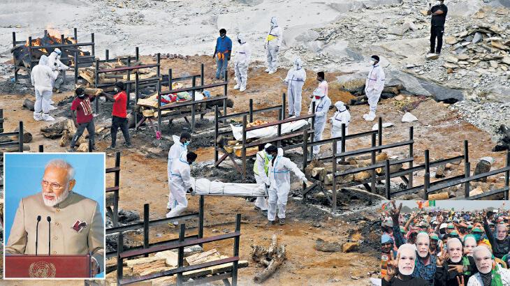 Pandemi siyaseti Modi'yi vurdu