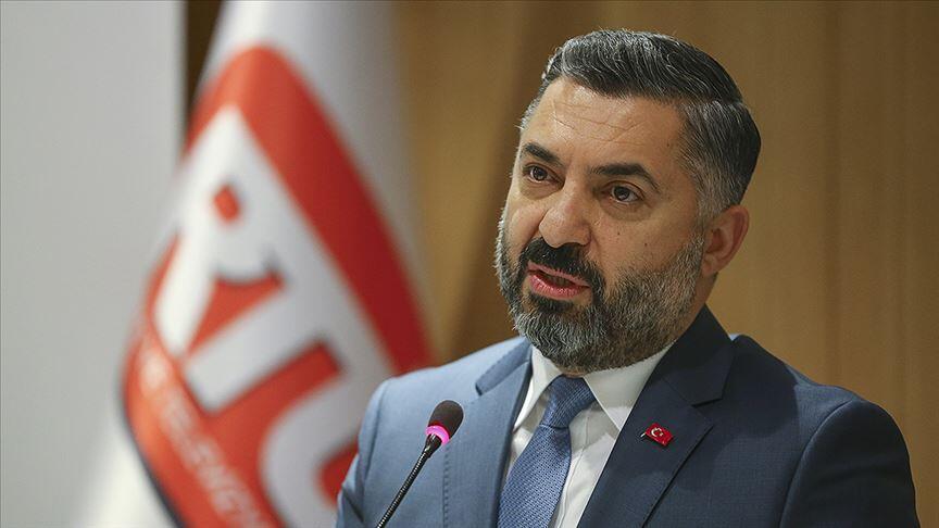 RTÜK Başkanı Şahin'den Dünya Televizyon Günü mesajı
