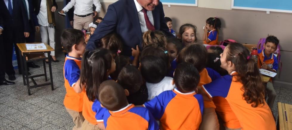 Sertaslan okulları ziyaret etti